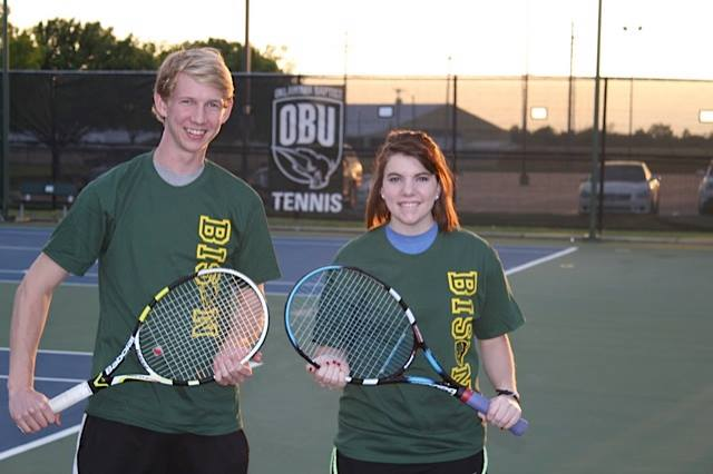 Mixed Doubles Intramural Champs!