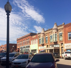 pretty buildings in Guthrie
